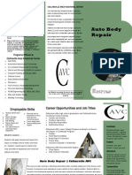 Auto Body Repair Brochure