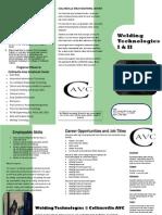 Welding Brochure CAVC