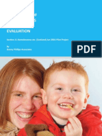 Prevention of Homelessness Evaluation 2009 Report