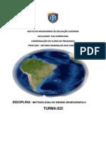 APOSTILA DO CURSO DE METODOLOGIA DO ENSINO DEGEOGRAFIA II..docx