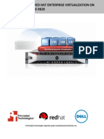 V2V migration to Red Hat Enterprise Virtualization on the Dell PowerEdge R820