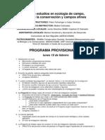 Programa preliminar Curso Diseño de estudios en Biología_ElSalvador