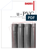 uPVC Tubewell Casing Screen Pipe Systems