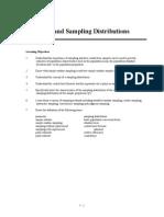 sampling and sampling distributions chap 7