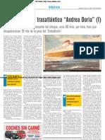 El naufragio del trasatlántico 'Andrea Doria' (I)