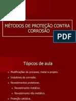 Aula 8 - Métodos de proteção