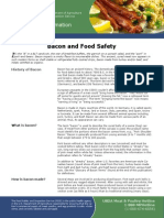Bacon and Food Safety