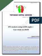 Ipo Analysis Using Gann Angles