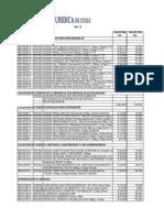 Lista de Precio Juridico Dic-2013