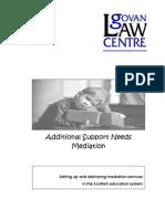 GLC Mediation Report