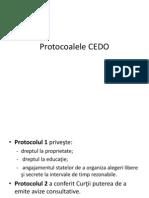 Protocoalele CEDO