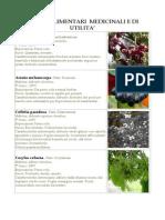 Piante Alimentari Medicinali e Di Utilita