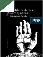 Edmond Jabes - El Libro de Las Semejanzas