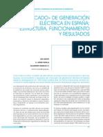 Mercado Electrica Espana