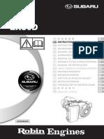 Coleman Powermate 6520-Subaru Robins EX300D52010 Owners Manual