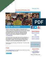 PublicSchoolOptions.org February 2014 Newsletter