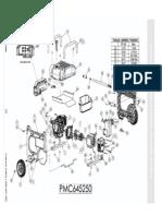 Coleman Powermate 6560 PMO645250 Parts Manual