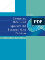 Boyce Elementary Differential Equations and Boundary Value Problems 10th c2012