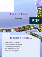 Lecture Four