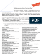 Agenda post-2015