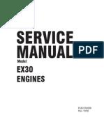 Coleman Powermate 6520-Subaru Robins EX300D52010 Service Manual
