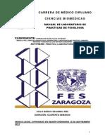 MANUAL DE PRACTICAS DE FISIOLOGÍA
