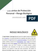 Elementos de Protección Personal - Biológico