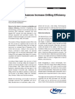 Technology Advances Increase Drilling Efficiency