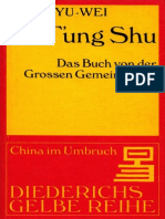 Kang Yu-wei - Ta Tung Shu, Das Buch von der großen Gesellschaft