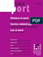 Violence at Work Service-Related Pay Law at Work