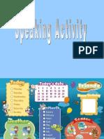 Oral Activity