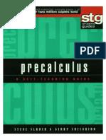 Precalculus - A Self-Teaching Guide - S. Slavin, G. Crisonino (Wiley, 2001) WW