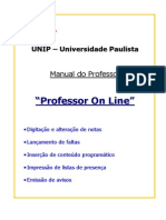 Manual Professor on Line