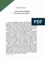 Pouvoirs17 p37-50 Monarchie Pontificale