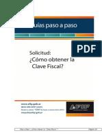 Obtener Clave AFIP