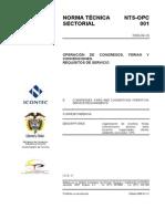 Norma Tecnica Opc Nts-opc001