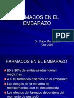 Farmacos en El Embarazo3011