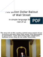 Reality of Bailout Plan