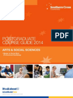 Arts & Social Sciences ~ Postgraduate Course Brochure (2014)