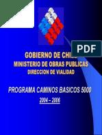 DV Programa Caminos Basicos 5000