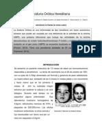 Bioquimica Médica. Aciduria Orotica