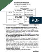 Exam Notification Foundation April-2014