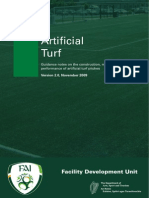 Artificial Turf Guidelines