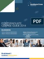 Business ~ Postgraduate Course Brochure (2014)