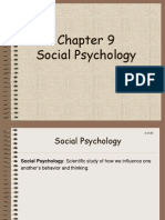 1-3 Chapter 9 Social Psychology