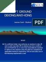 Aircraft Ground Deicing PPT