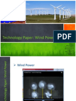 Technology Paper Wind Power