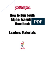 youthalpha Handbook