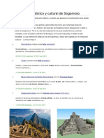 Patrimonio histórico y cultural de Sogamoso