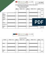 Tabela de Sequencializacao PPM
